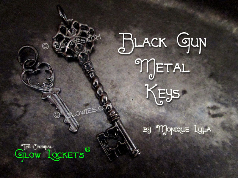 Black Gun Metal Keys
