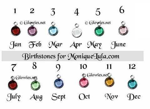 Add a Birthstone Crystal