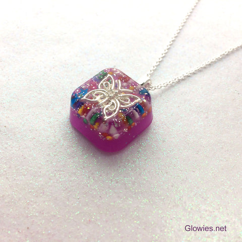 Butterfly Glow Necklace