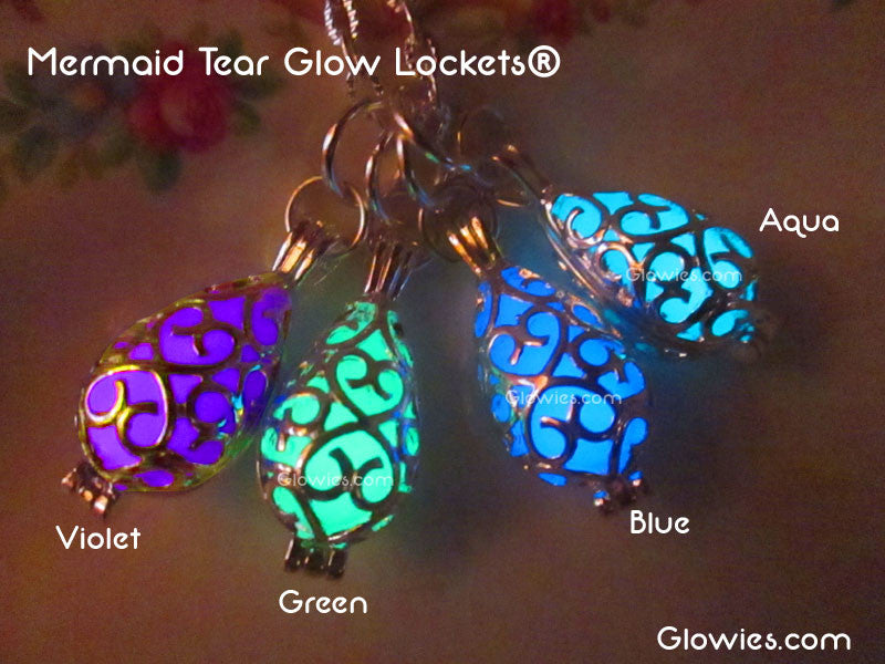 Mermaid Tear Glow Lockets®