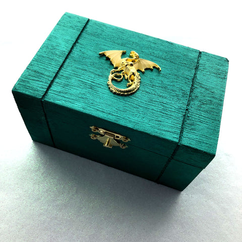 Dragon Box with Glowing Wings