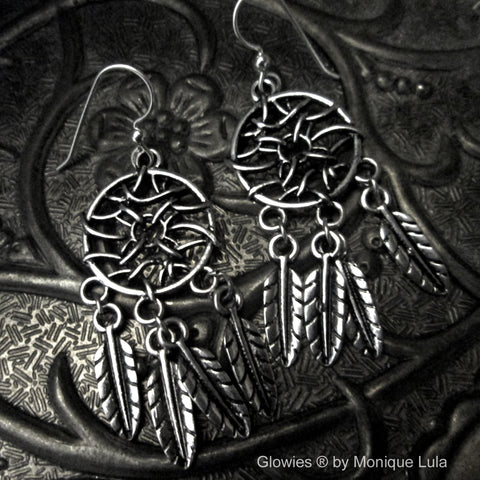 Dreamcatcher Earrings