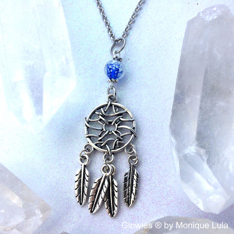 Dream Catcher Glow Necklace
