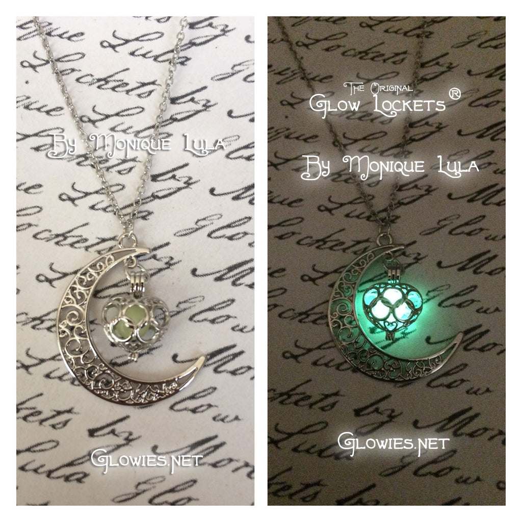 Flash Sale - Green Love Crescent Glowing Orb