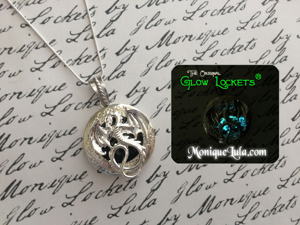 Galaxy Dragon Glow Locket ®