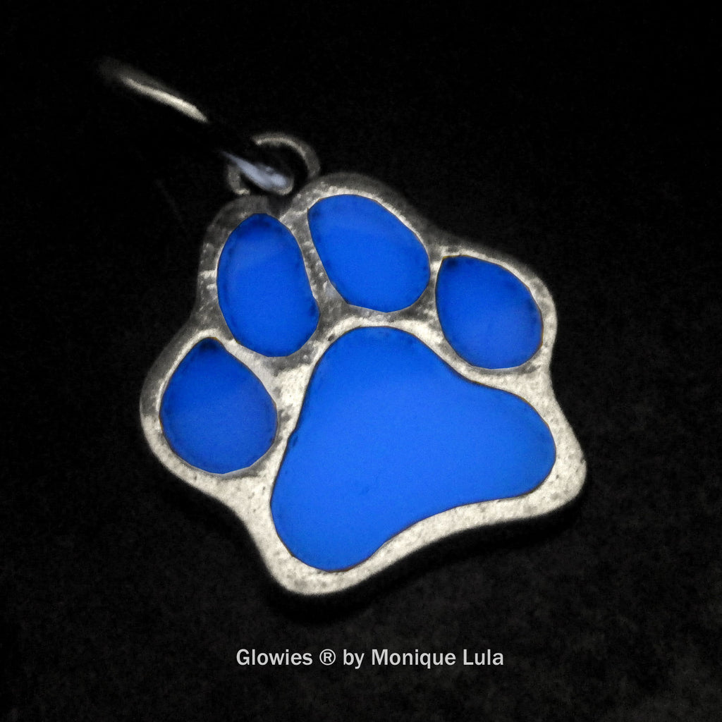 Glowing Paw Charm
