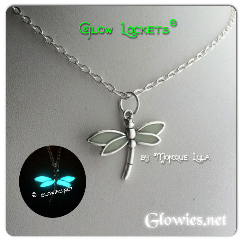 Glowing Wing Dragonfly