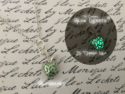 Enchanted Apple Caged Glow Locket ™