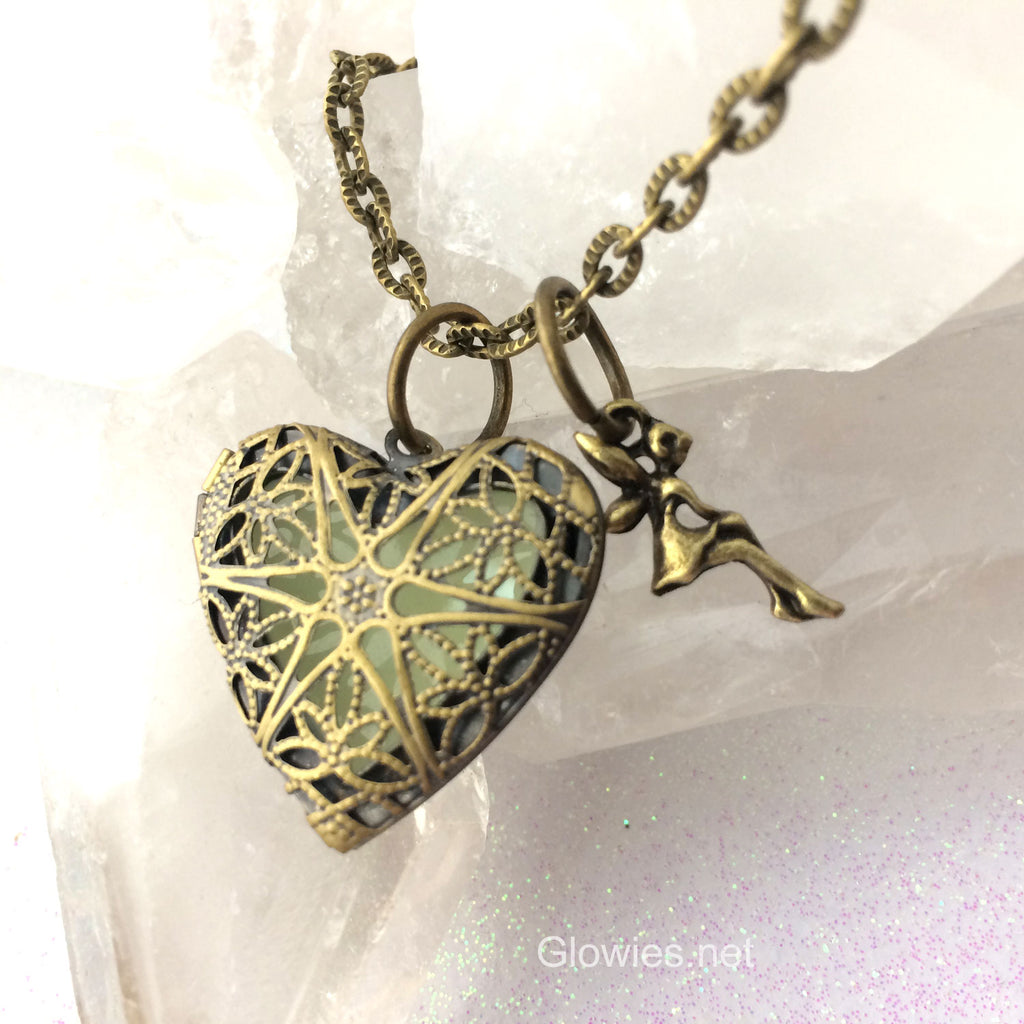 Heart of the Fairy Glow Locket ®