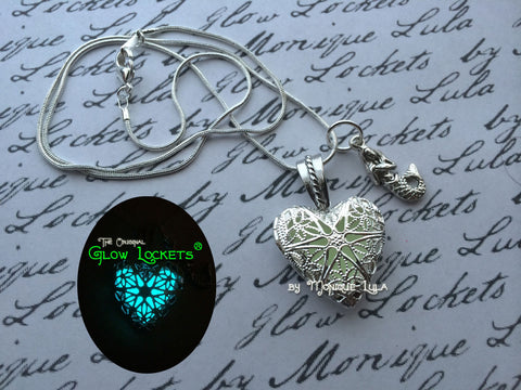 Mermaid Heart of Atlantis Glow Locket ®