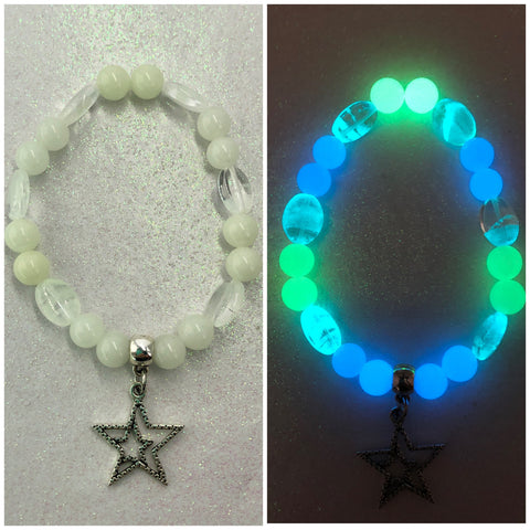 Shooting Star Beaded Glowie Bracelet