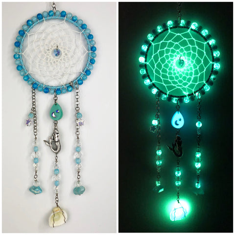 Mermaid Beach Dreamcatcher 5 inch