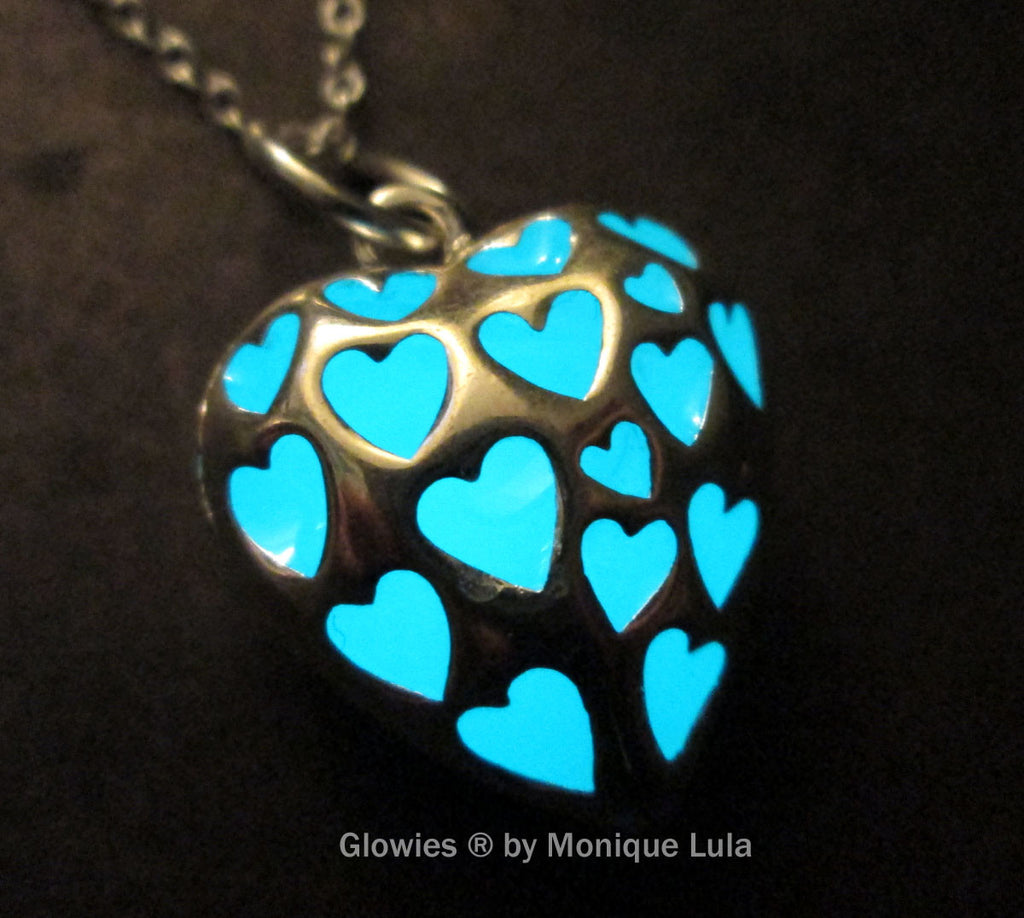 Love Spell Glowing Heart Necklace