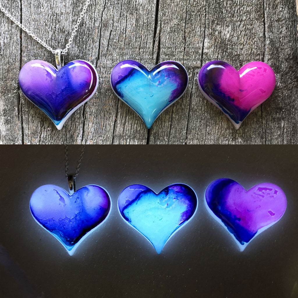Lula Heart Style #3 Batch Purple, Blue, & Pink