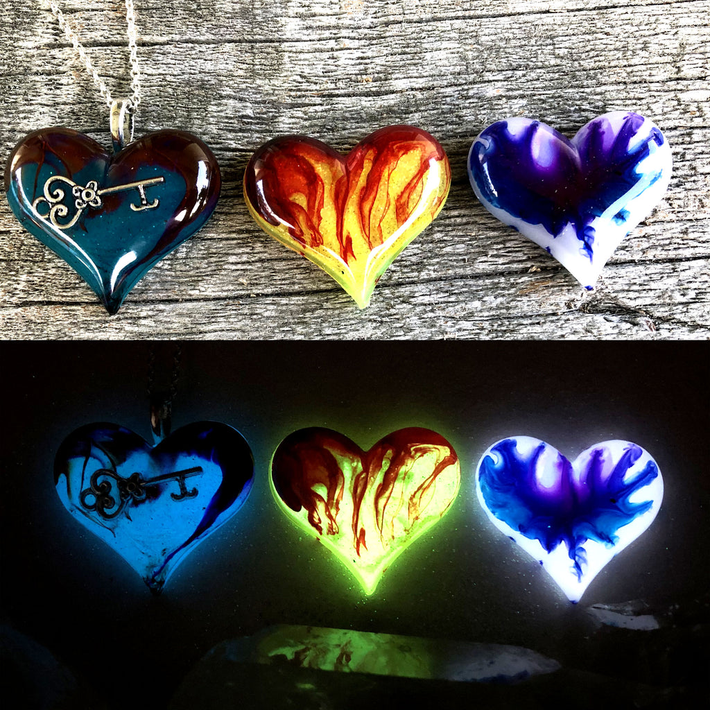 Lula Heart Style Batch #23 - Key Flames and Splatter