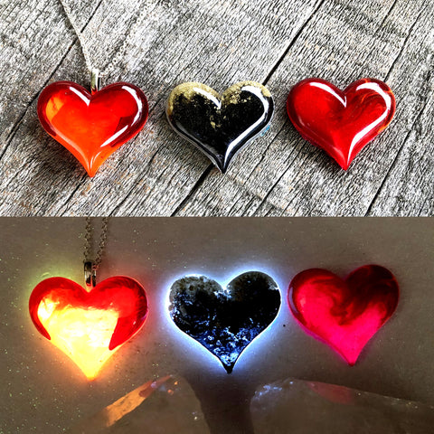 Lula Heart Style Batch #26 - Red Yellow Black Gold & Pink
