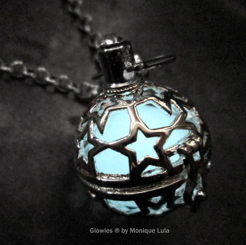Starry Night Orb Glow Locket ®