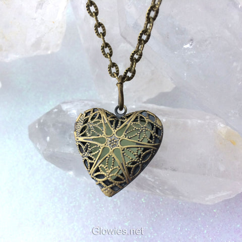 The Original Mystic Heart Glow Lockets ™