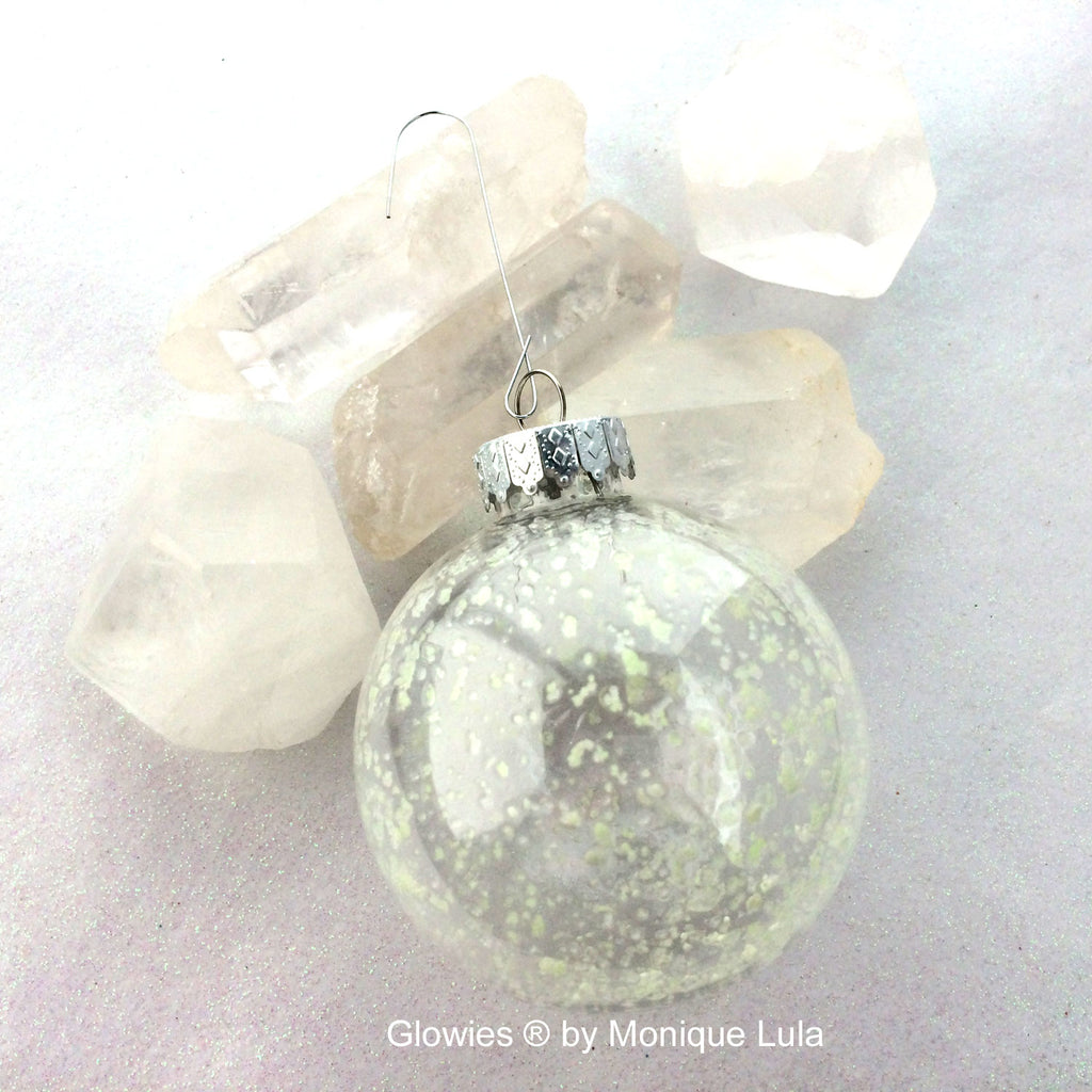 Galaxy Glow in the dark Christmas Tree Ornament
