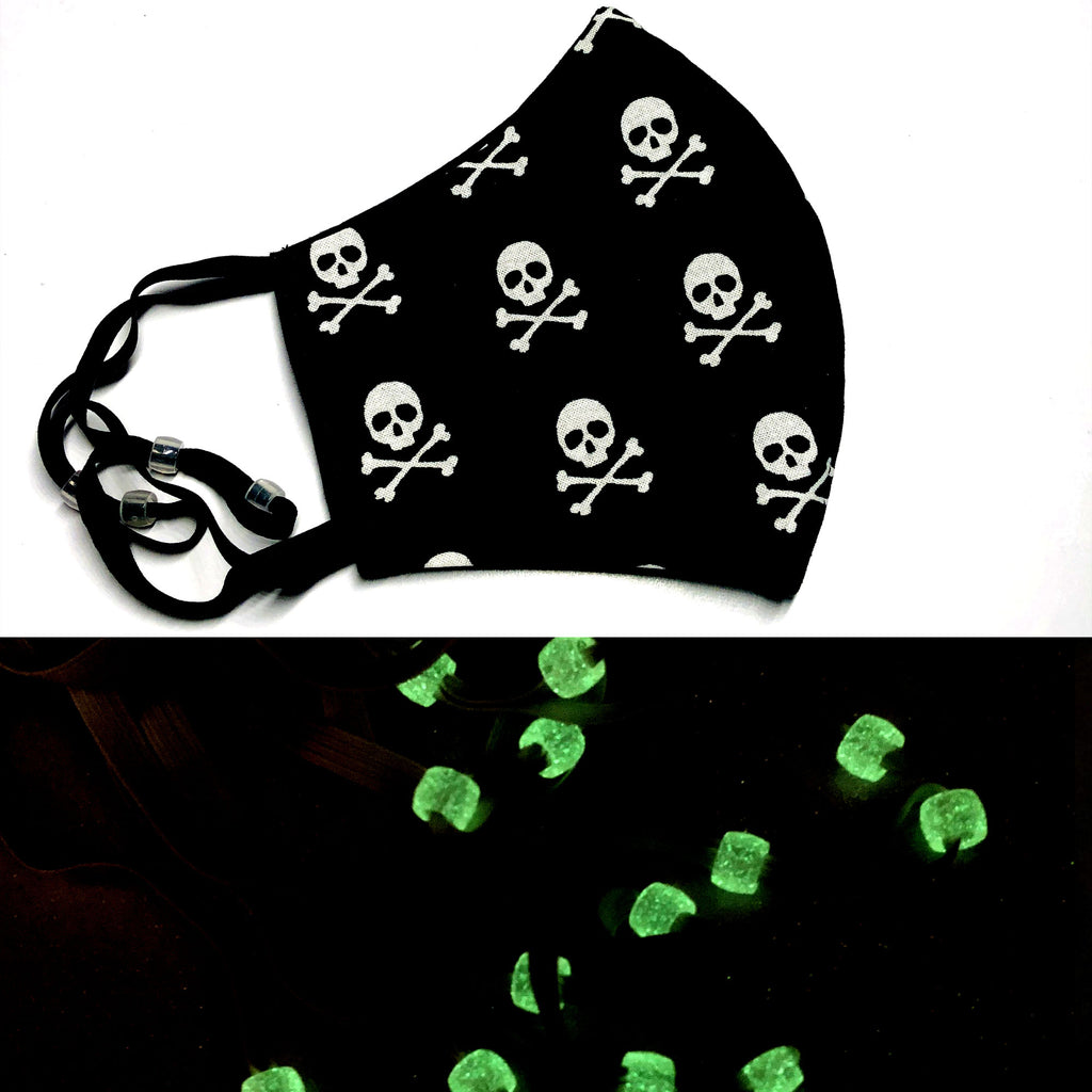 Skull & Cross Bones Pirate Face Mask