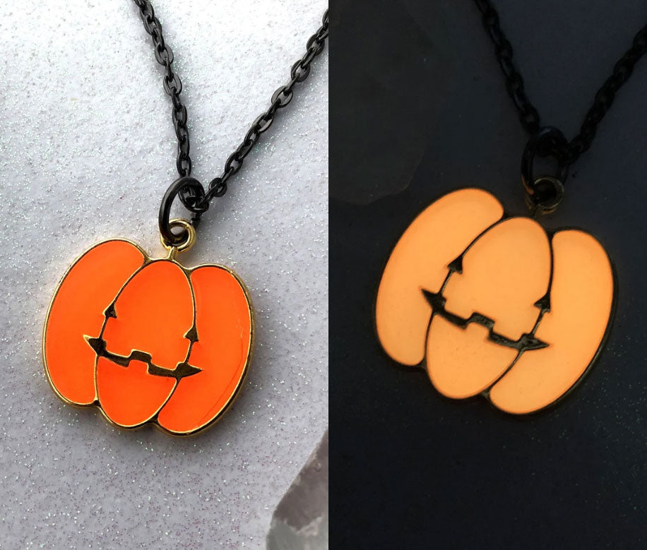 Pumpkin Glow Necklace