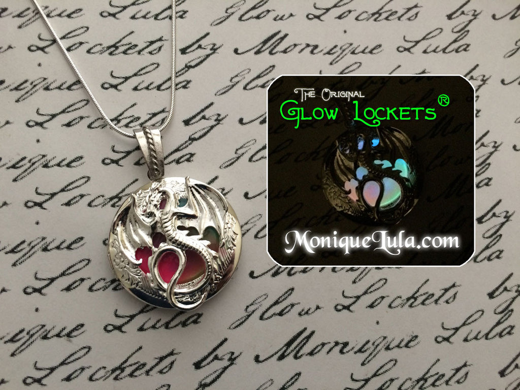 Rainbow Dragon Glow Locket ®