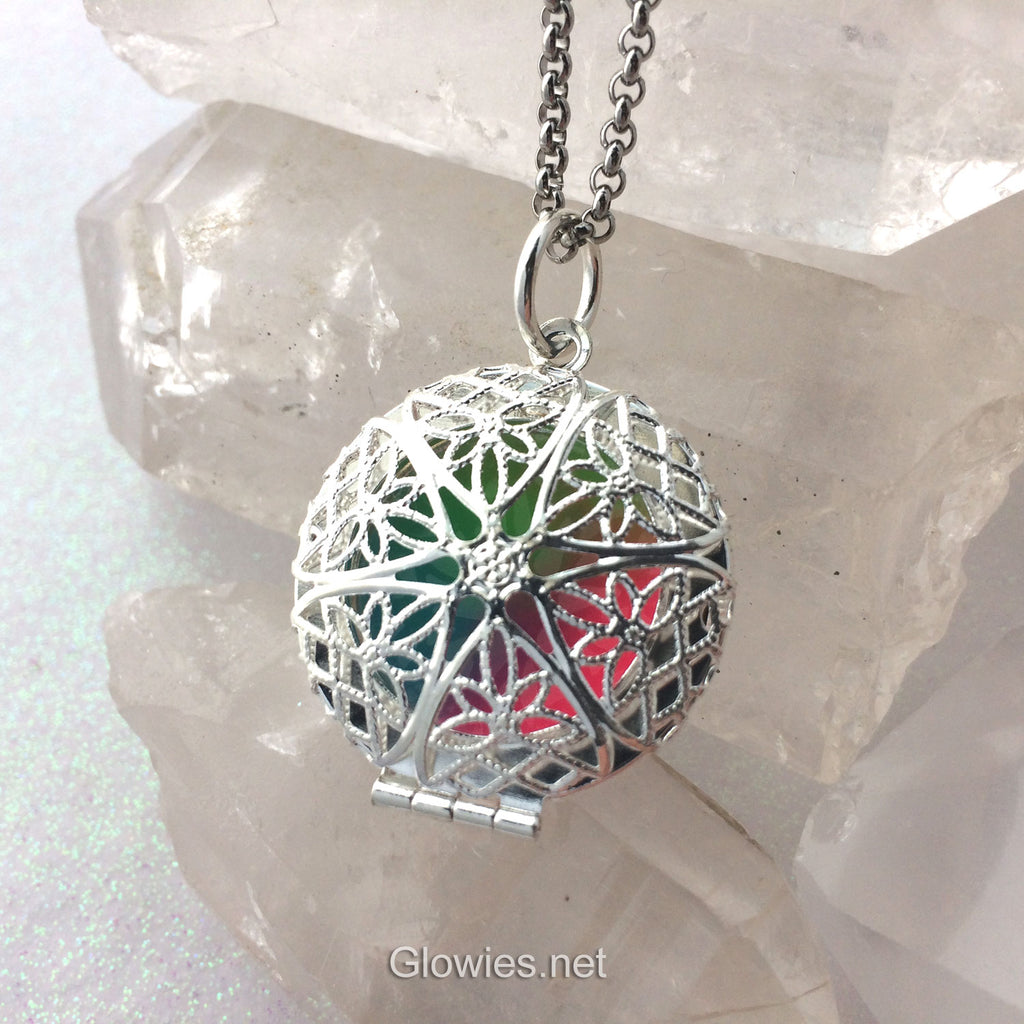 Rainbow Mystic Glow Locket ®