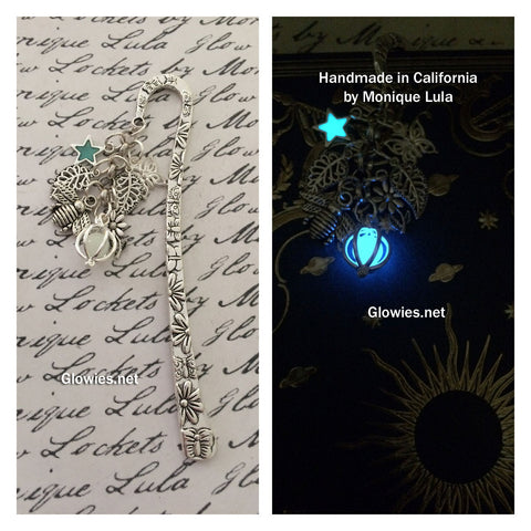 Secret Garden Glowing Orb & Star Victorian Bookmark