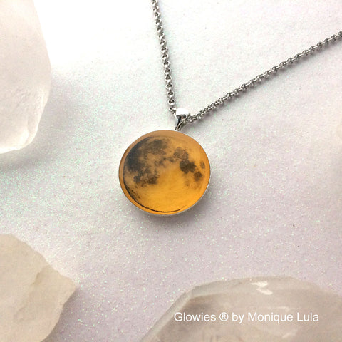 Harvest Moon Glow in the dark necklace
