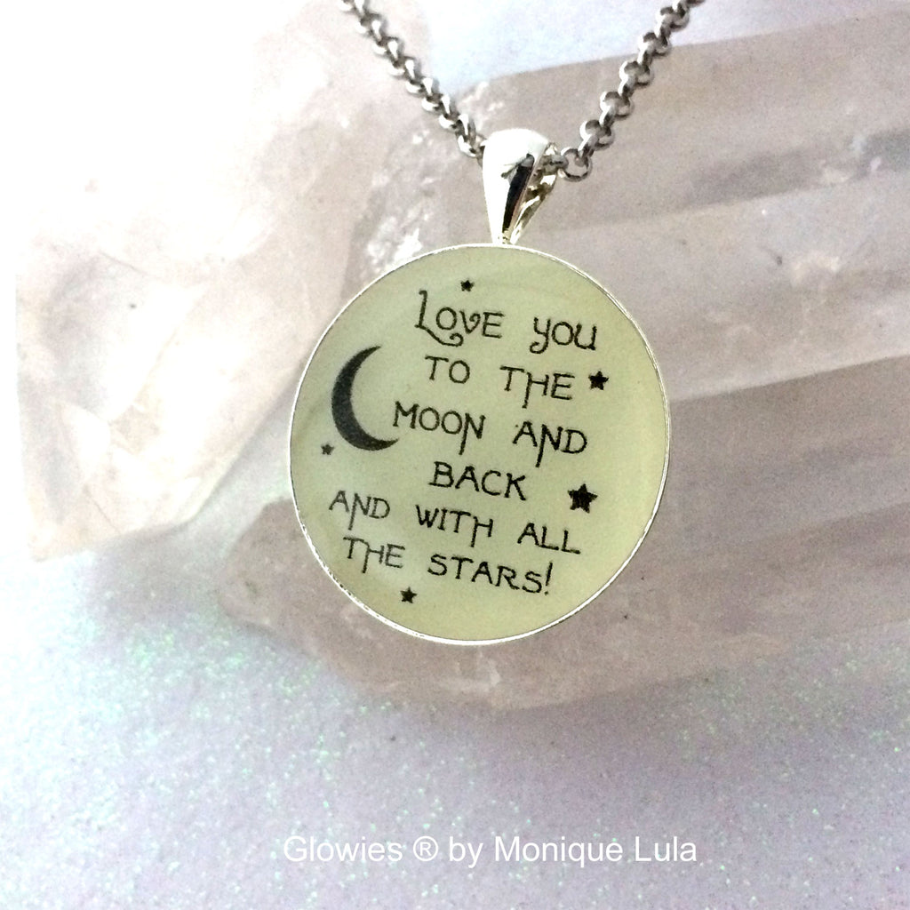 Gift Set Love You To The Moon and Back Quote