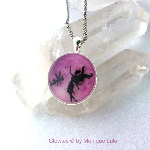 Fairy Mom Full Moon Glow Necklace
