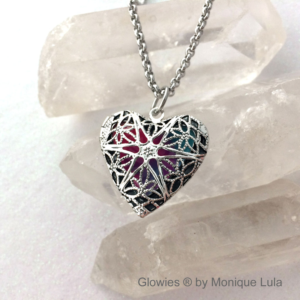 Passion Glow Locket ® Heart