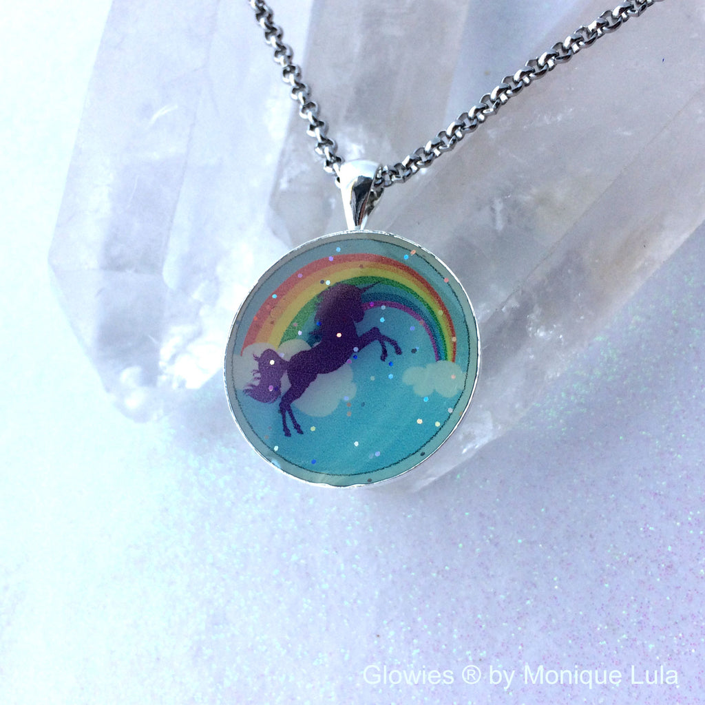 Unicorn Glow Art Necklace