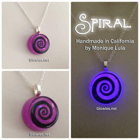 Spiral Glow Necklace
