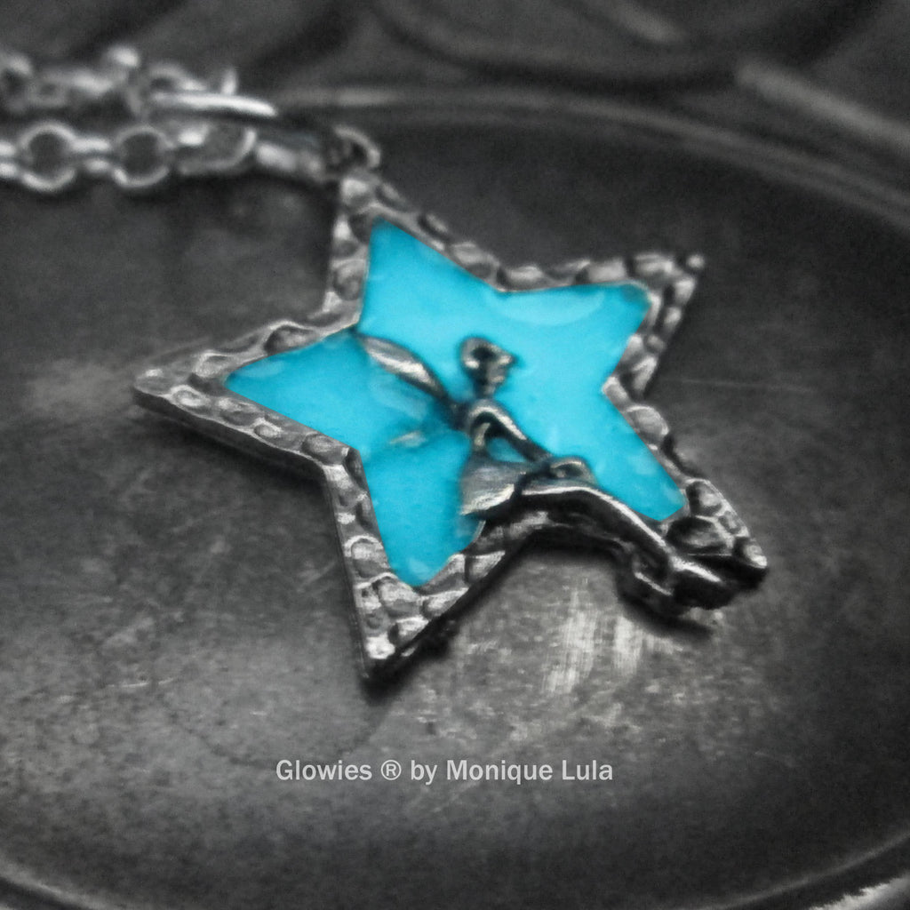 Star Fairy Glow in the dark Necklace