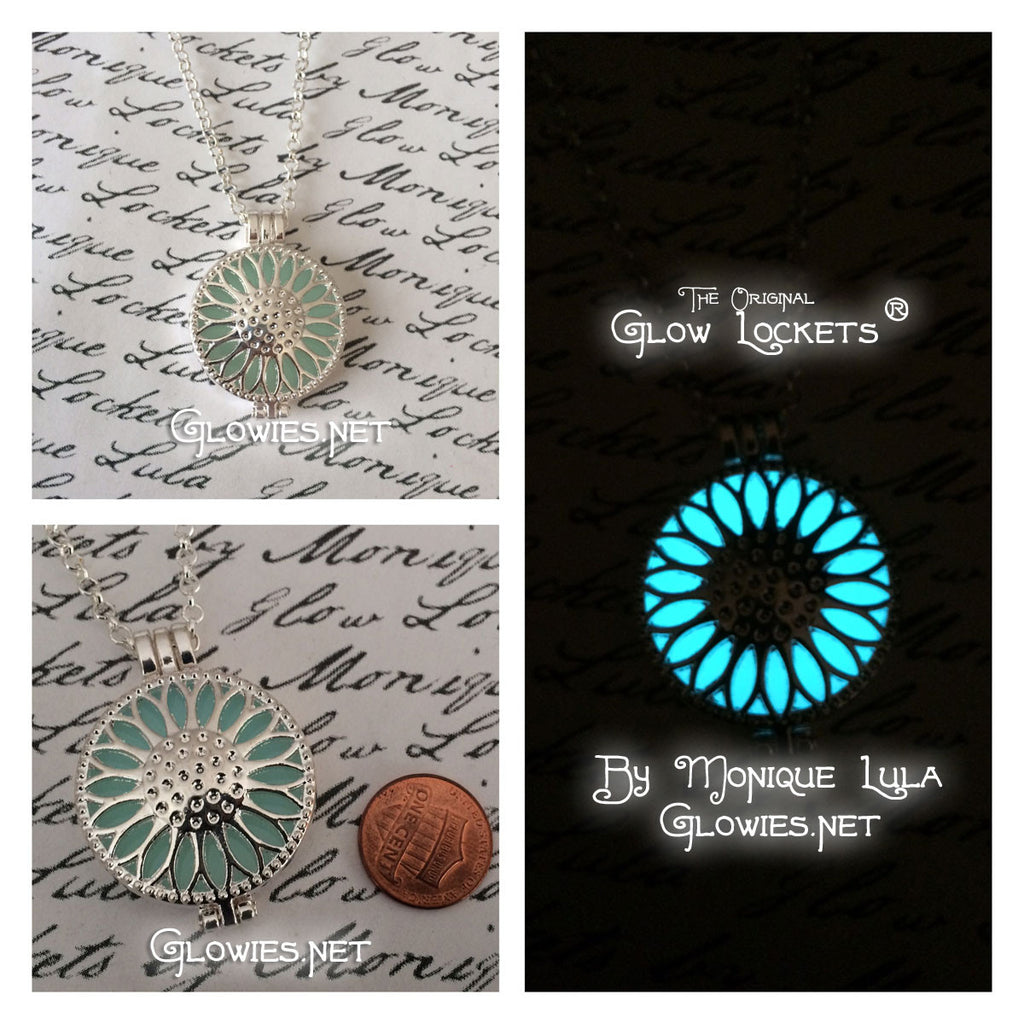 Sunflower Daisy Glow Locket ®