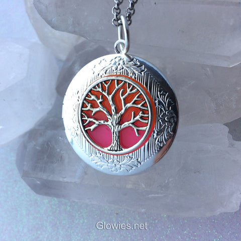 Sunset Tree of Life Glow Locket ®