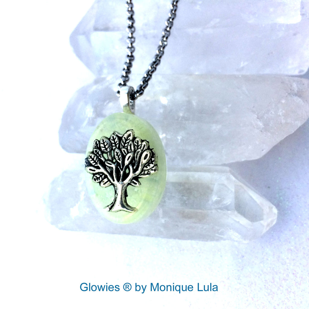 Frozen Tree of Life Glow Necklace