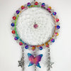 Rainbow Butterfly Dreamcatcher 5 inch