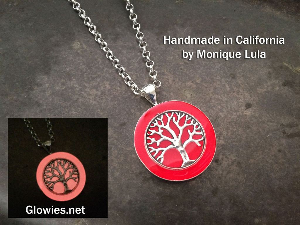 Tree of Life Glow Necklace