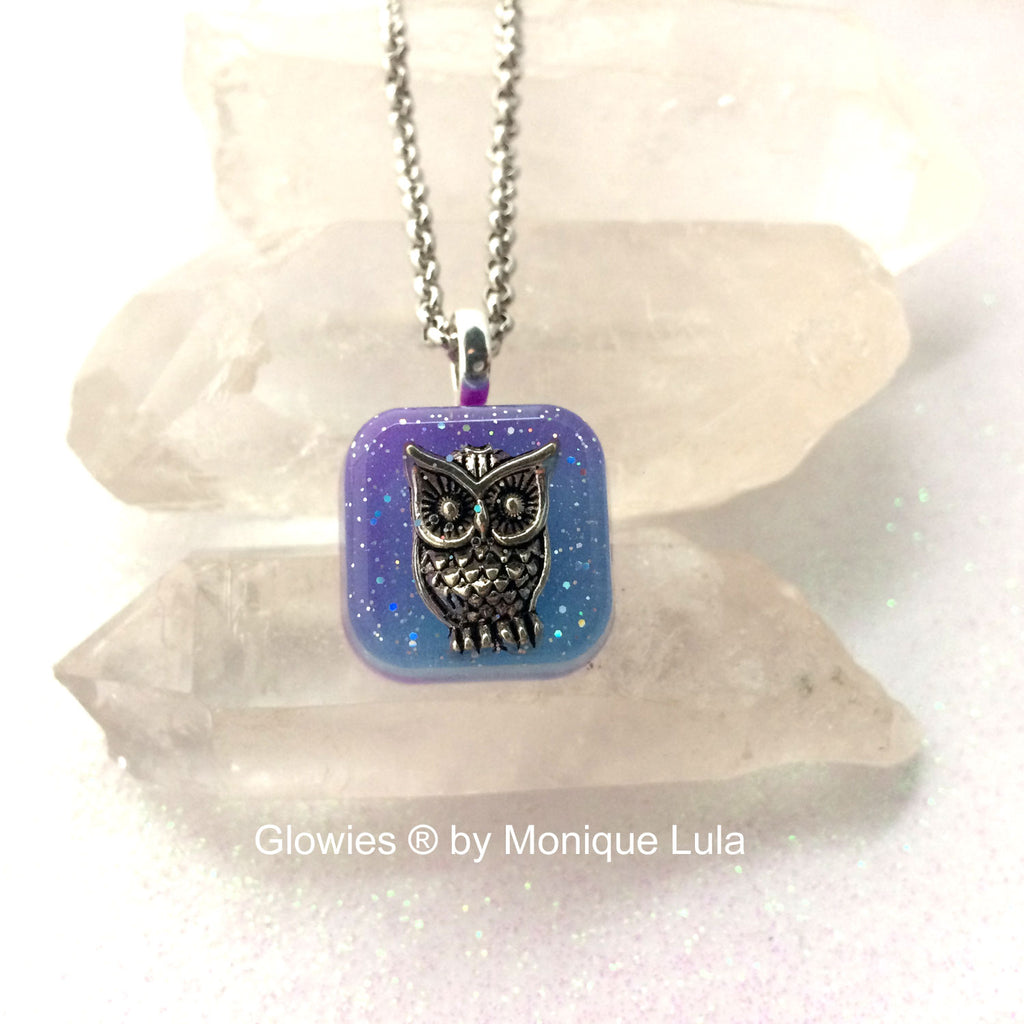 Owl Glow Necklace