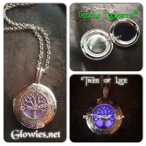 Tree of Life Glow Locket ®