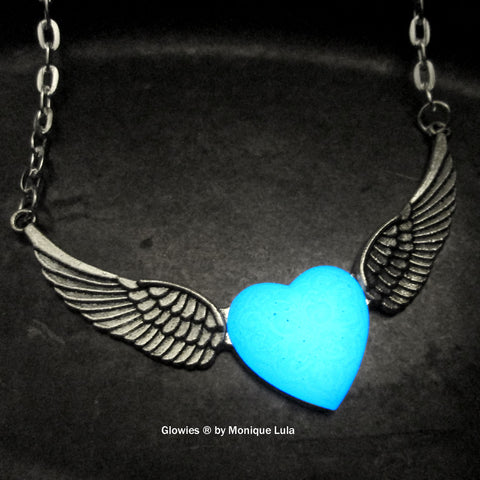 Wings of an Angel Heart Necklace