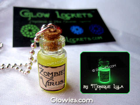 Zombie Virus Potion Bottle