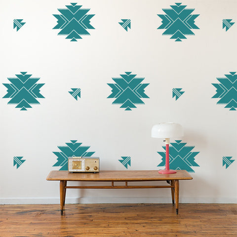 Aztec Wall Pattern
