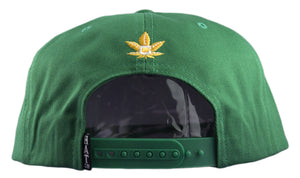 All Natural Snapback Cap - Kelly Green - HATCOcaps.com  - 3
