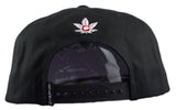 All Natural Snapback Cap - Black - HATCOcaps.com  - 3