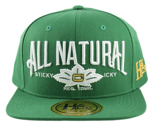 All Natural Snapback Cap - Kelly Green - HATCOcaps.com  - 2