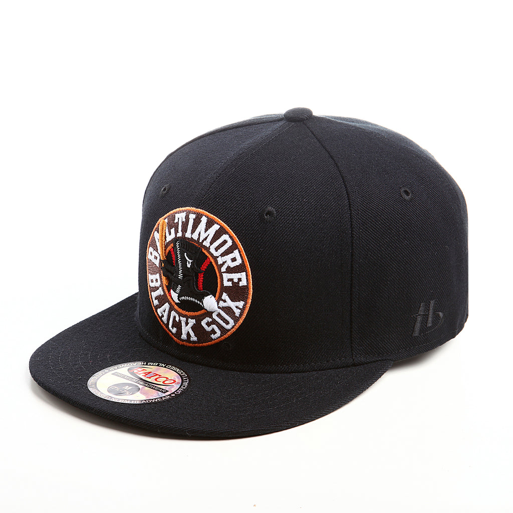 NLBM - Baltimore Black Sox - Fitted Cap - HATCOcaps.com  - 2