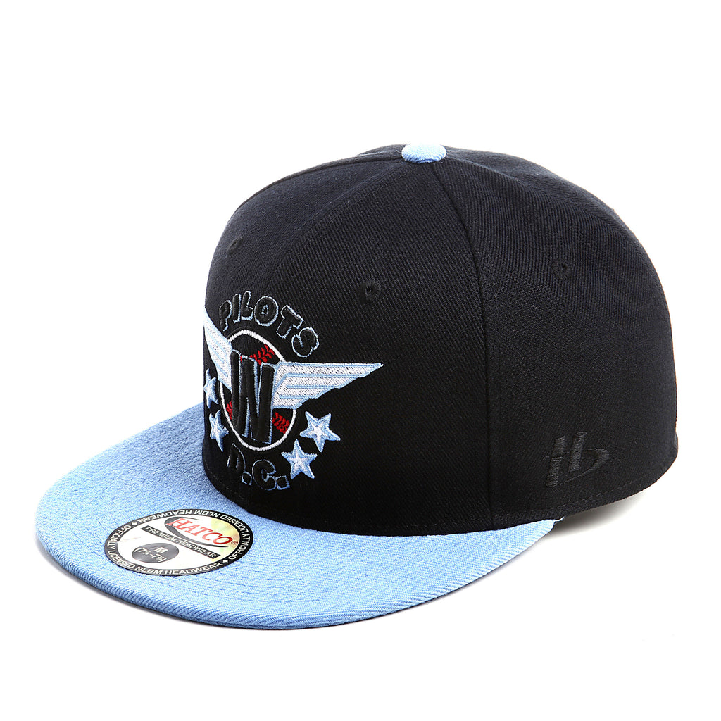 NLBM - Washington Pilots - Fitted Cap - HATCOcaps.com